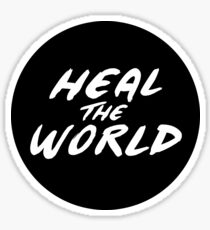 Heal the World Sticker