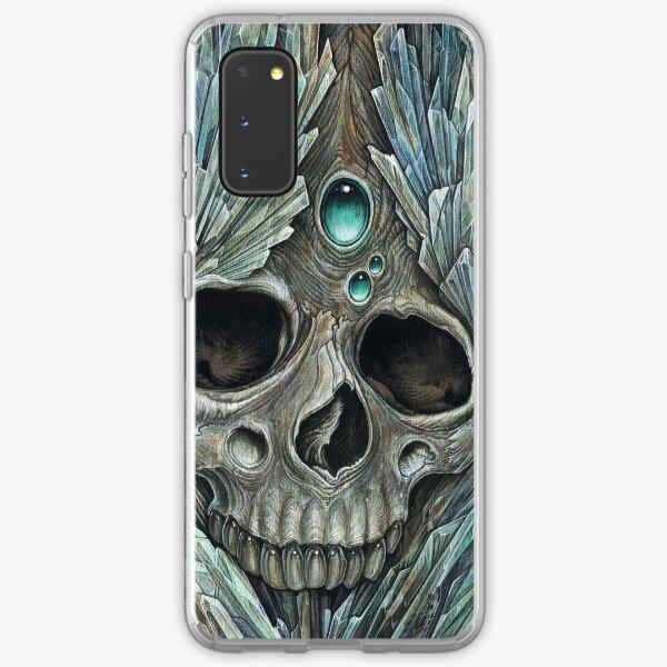 crystal skull Samsung Galaxy Soft Case