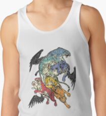 Seven Caged Tigers Tank Top