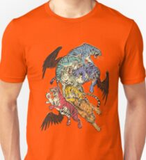 Seven Caged Tigers Unisex T-Shirt