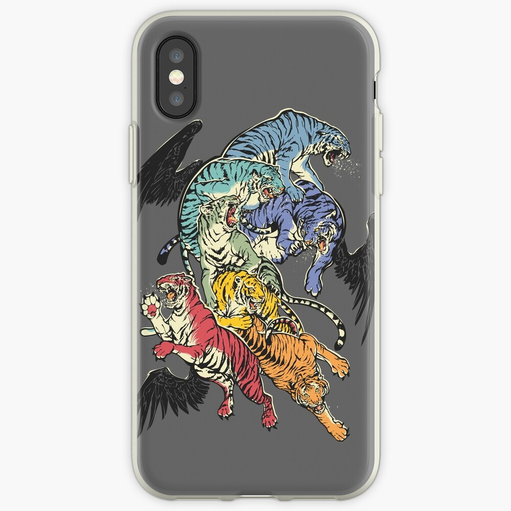 Seven Caged Tigers iPhone Case & Cover