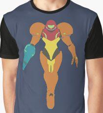 Smash Bros - Samus Graphic T-Shirt