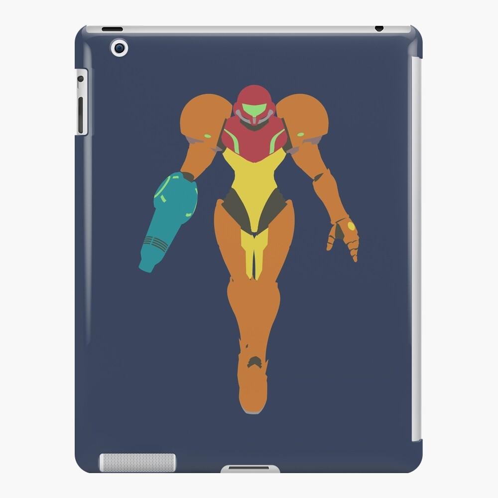 Smash Bros - Samus Funda y vinilo para iPad
