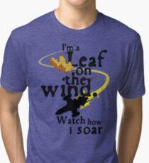 Leaf on the wind Tri-blend T-Shirt