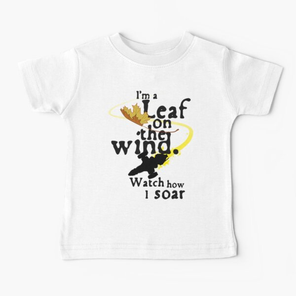 Leaf on the wind Baby T-Shirt