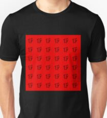Pikachu Red Pattern Unisex T-Shirt