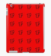 Pikachu Red Pattern iPad Case/Skin
