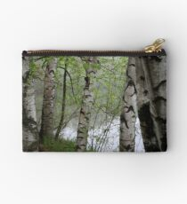 Birch Tree Waterscape 3228 Studio Pouch
