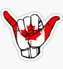 Canada Shaka  Sticker