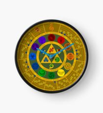 Wheel of the Hero of Time Clock
