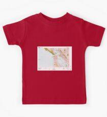 USGS TOPO Map California CA San Francisco 302040 1978 100000 geo Kids Clothes