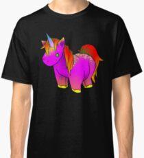 Neon Unicorn Stuffed Animal 2  Classic T-Shirt