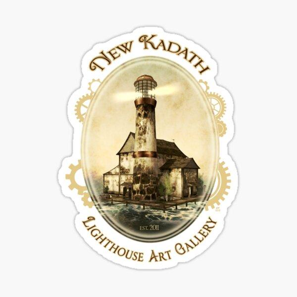 New Kadath Lighthouse Art Gallery Sticker