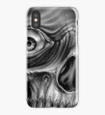 skull demon iPhone Case