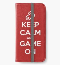 Keep Calm And Game On iPhone Wallet/Case/Skin