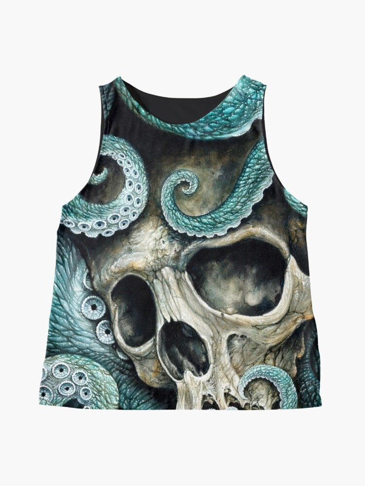 Alternate view of please love, don't die so far from the sea Sleeveless Top