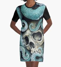 please love, don't die so far from the sea Graphic T-Shirt Dress