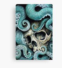 please love, don't die so far from the sea Canvas Print