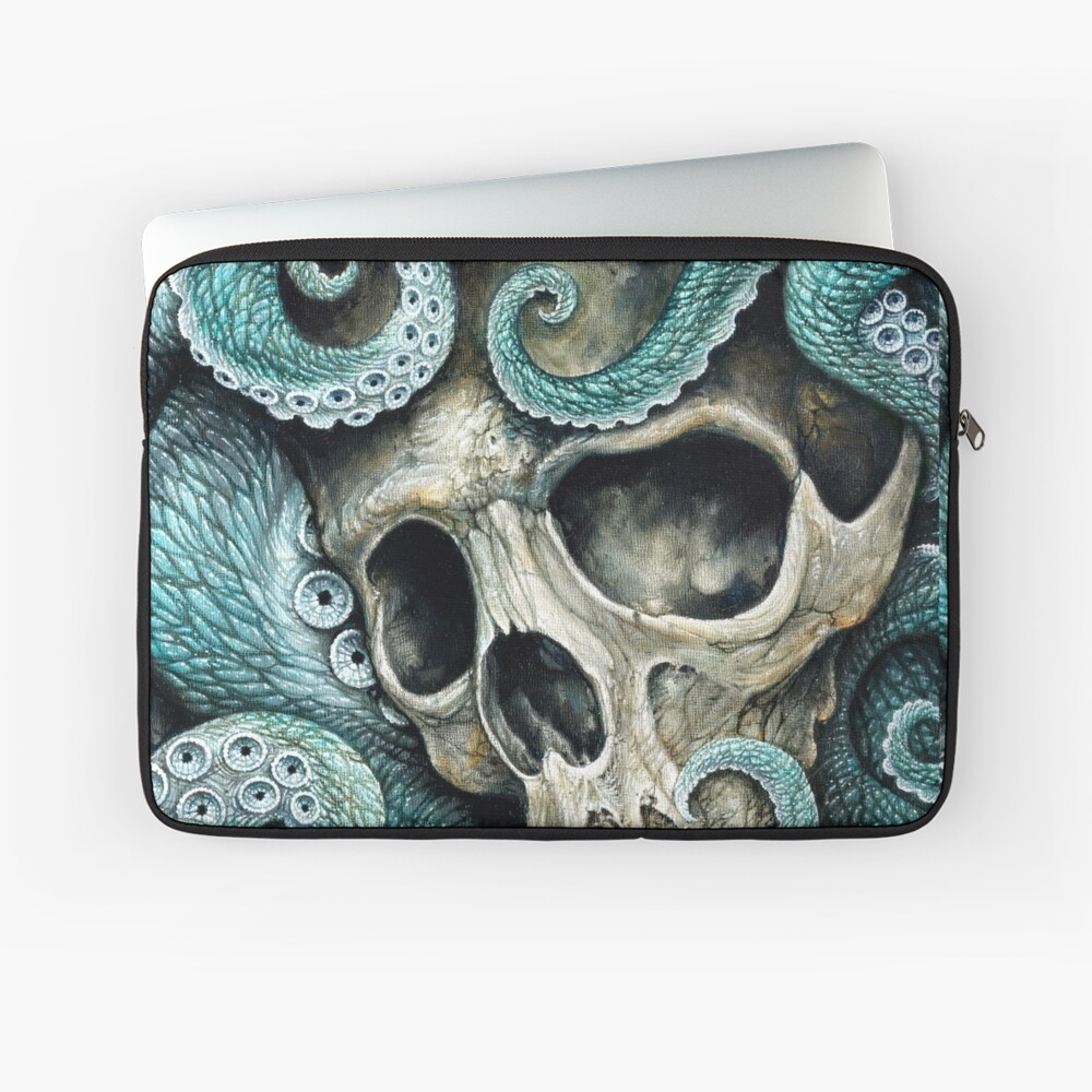 please love, don't die so far from the sea Laptop Sleeve