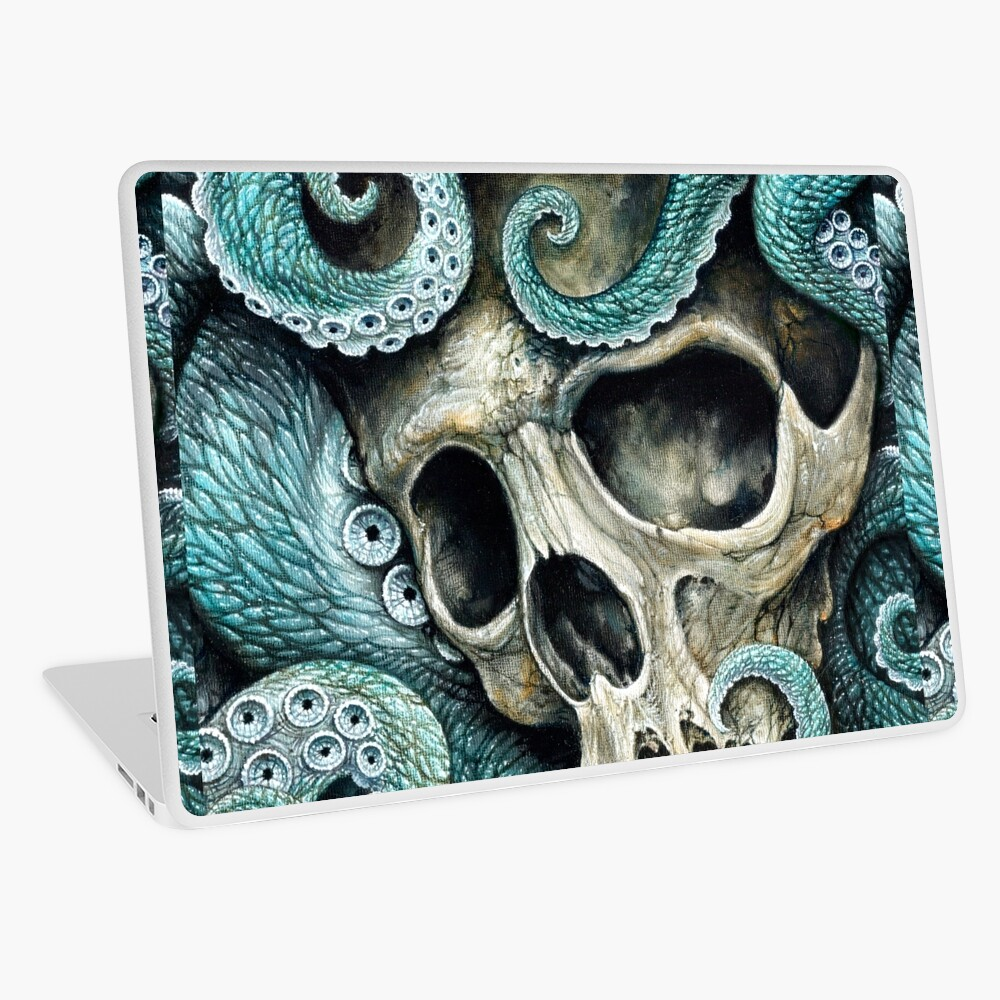 please love, don't die so far from the sea Laptop Skin