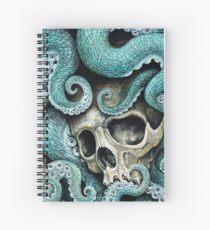 Cuaderno de espiral por favor amor, no mueras tan lejos del mar