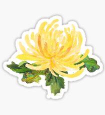 Chrysantheme: Die Novemberblume Sticker