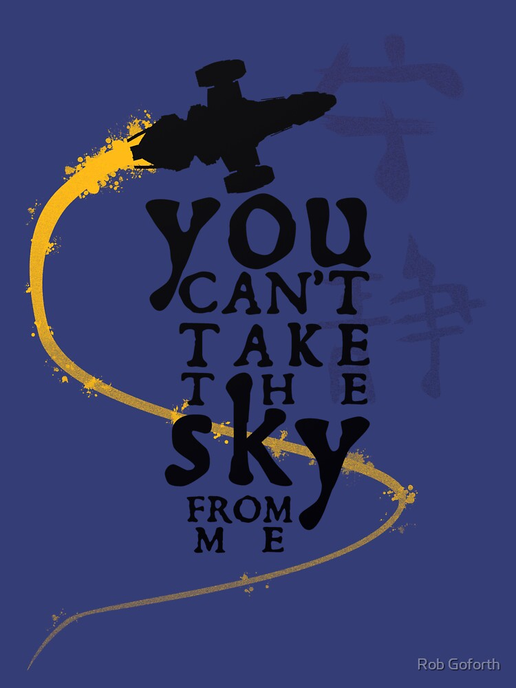 You can't take the sky from me.  | Unisex Tank Top