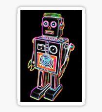Color robot Sticker