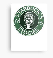 Starbuck's Stogies Metal Print