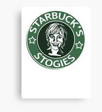 Starbuck's Stogies Canvas Print