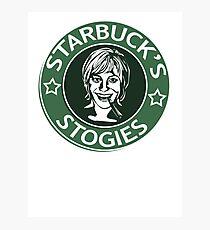 Starbuck's Stogies Photographic Print