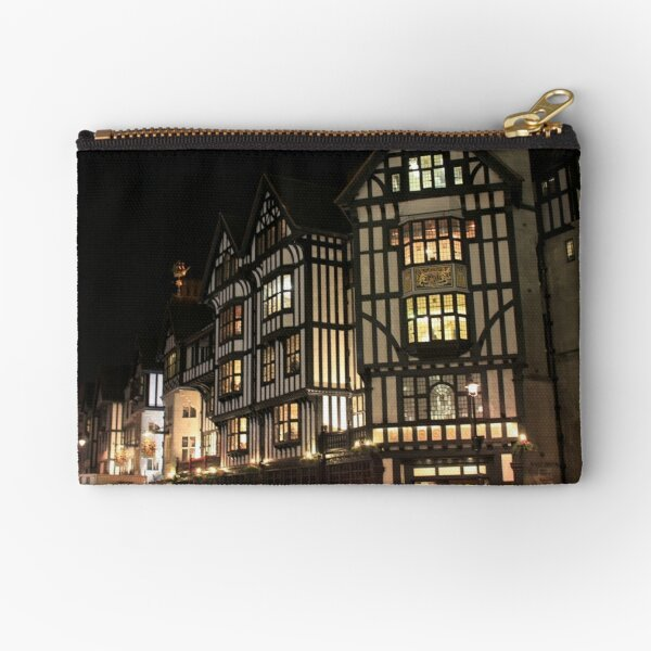 Old Architecture at London Zipper Pouch