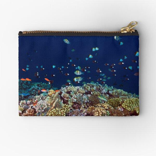 Reef edge Zipper Pouch