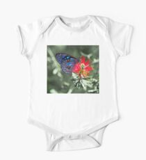 Blue Tiger Butterfly Kids Clothes
