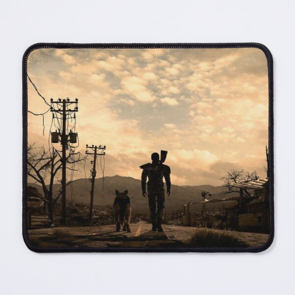 Fallout 3 The Lone Wanderer & Dogmeat Mouse Pad