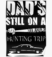 TWD/SPN - Negan/John Winchester's Hunt Trip Poster