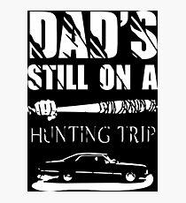 TWD/SPN - Negan/John Winchester's Hunt Trip Photographic Print