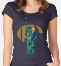 'Merica! Women's Fitted Scoop T-Shirt