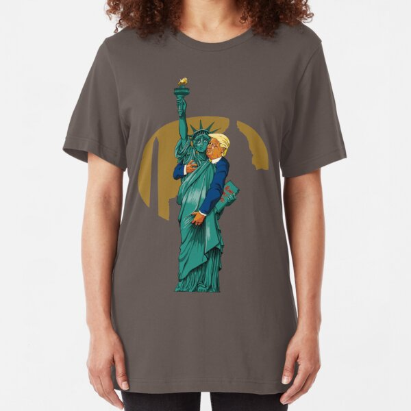 'Merica! Slim Fit T-Shirt