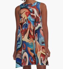 Dreamscape - Screaming Skies A-Line Dress