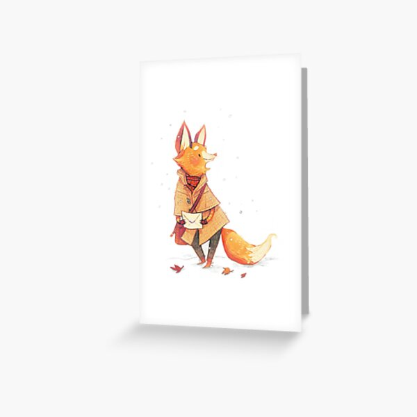 Foxby Greeting Card