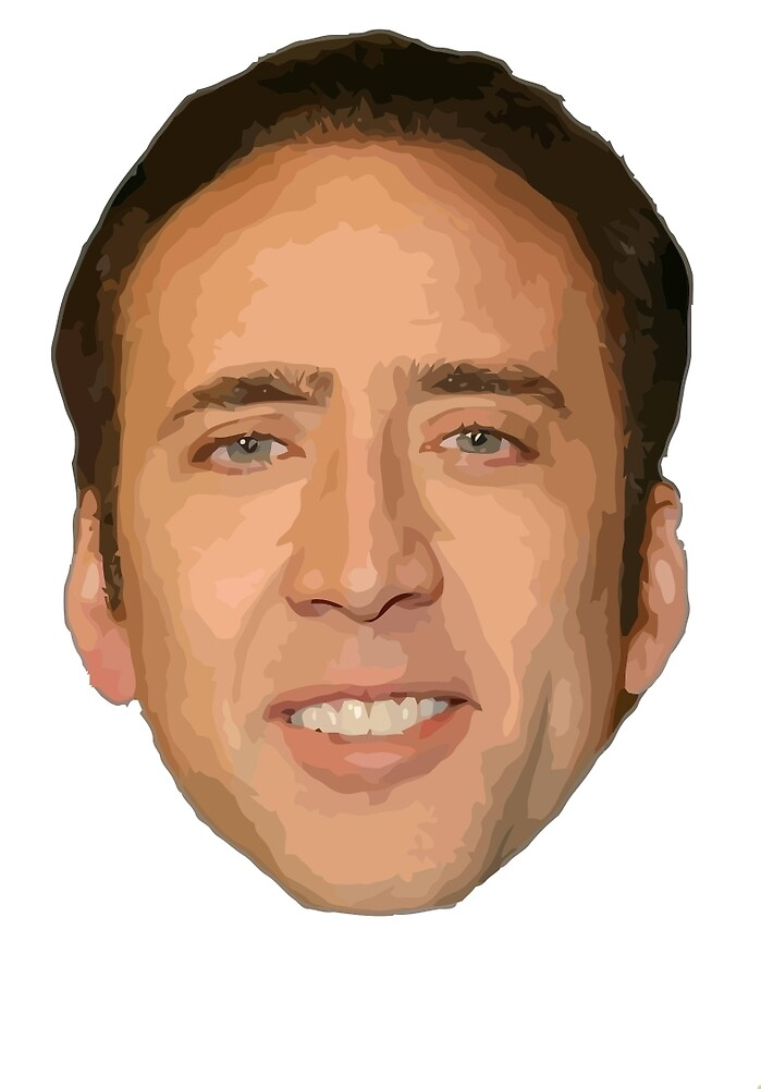 Nicholas Cage Drawing. by poonanji