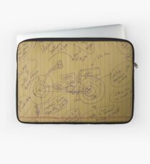 158A The Hydrogen Water Gas Powered Murphy Motorcycle 01102012 HWGPMM Laptop Sleeve