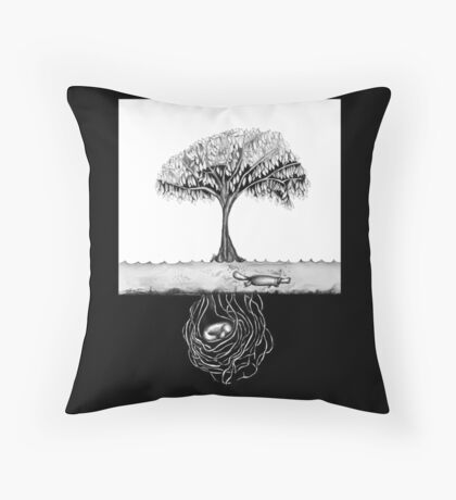 Rest and play Throw Pillow