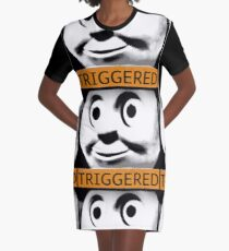 Thomas the Train (TRIGGERED) Graphic T-Shirt Dress