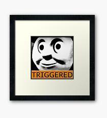 Thomas the Train (TRIGGERED) Framed Print