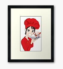 Best Chef for Christmas Framed Print