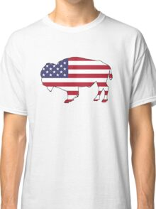 American Flag – Bison Classic T-Shirt