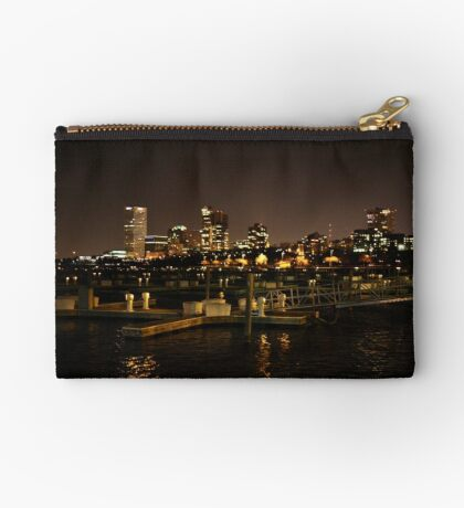Milwaukee Night Skyline Studio Pouch