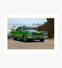 1968 Plymouth Roadrunner 383 cu. in. Art Print
